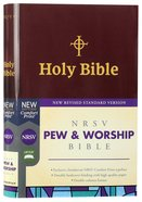 NRSV Pew and Worship Bible Burgundy Hardback