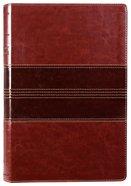 NRSV Thinline Bible Large Print Brown Premium Imitation Leather