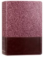 NRSV Cultural Backgrounds Study Bible Burgundy Premium Imitation Leather