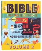Bible Infographics For Kids: Angels and Demons, Heroes and Villains, and How to Outrun a Chariot (Vol 2) Hardback