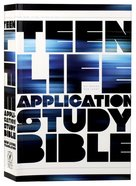 NLT Teen Life Application Study (Black Letter Edition) Paperback