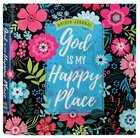 Guided Journed: God Is My Happy Place (Floral) image