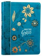 2020 16-Month/Weekly Diary/Planner: Amazing Grace, Teal/Orange (Faux Ziparound) Imitation Leather