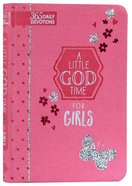 365 Daily Devotions: Little God Time For Girls, A image