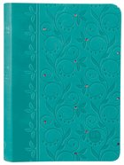 Tpt: New Testament (Compact) Teal With Psalms, Proverbs, And Song Of Songs image