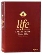 NIV Life Application Study Bible 3rd Edition (Red Letter Edition) Hardback