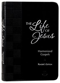 Product: Tpt Life Of Jesus, The: Harmonized Gospels Reader's Edition Image