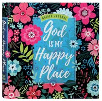 Product: Guided Journed: God Is My Happy Place (Floral) Image