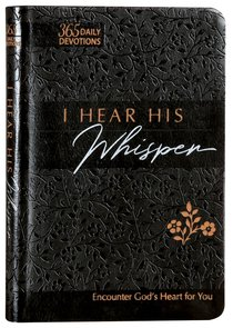 Product: I Hear His Whisper (Faux) Image
