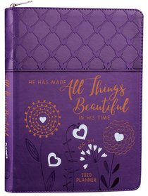 Product: 2020 16 Month Weekly Planner: All Things Beautiful (Faux Ziparound) Image