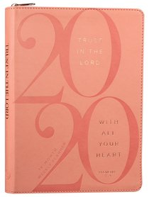 Product: 2020 16 Month Weekly Planner: Trust In The Lord (Faux Ziparound) Image