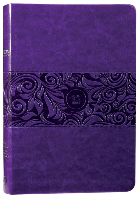 Product: Tpt The New Testament (Large Print) Violet With Psalms, Proverbs, And Song Of Songs Image