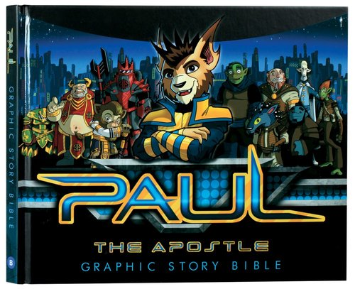 Product: Paul The Apostle Graphic Story Bible Image