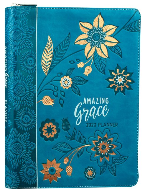 Product: 2020 16 Month Weekly Planner: Amazing Grace (Faux Ziparound) Image