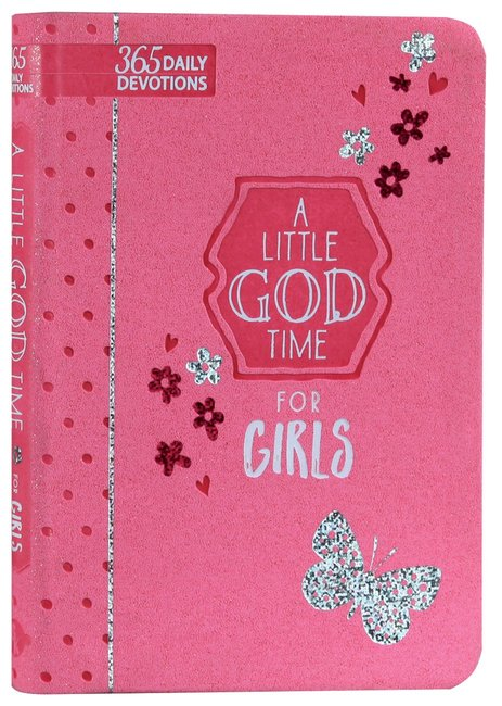 Product: 365 Daily Devotions: Little God Time For Girls, A Image