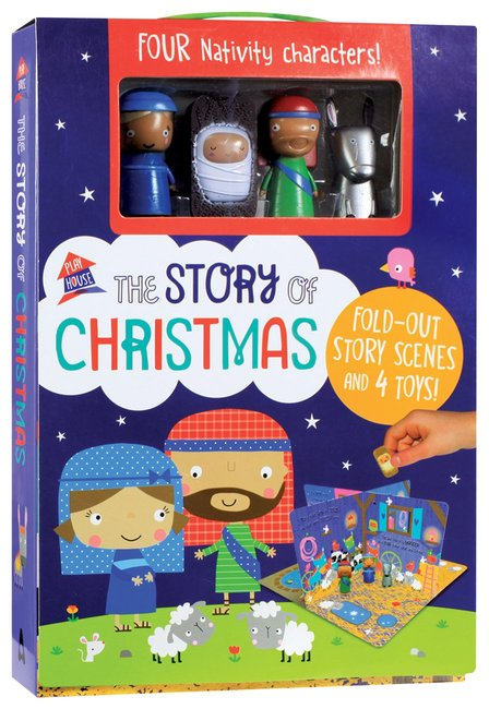 Product: The Story Of Christmas: A Fold Out Story Image