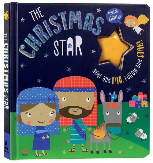 Product: The Christmas Star: Flashing-light Book Image