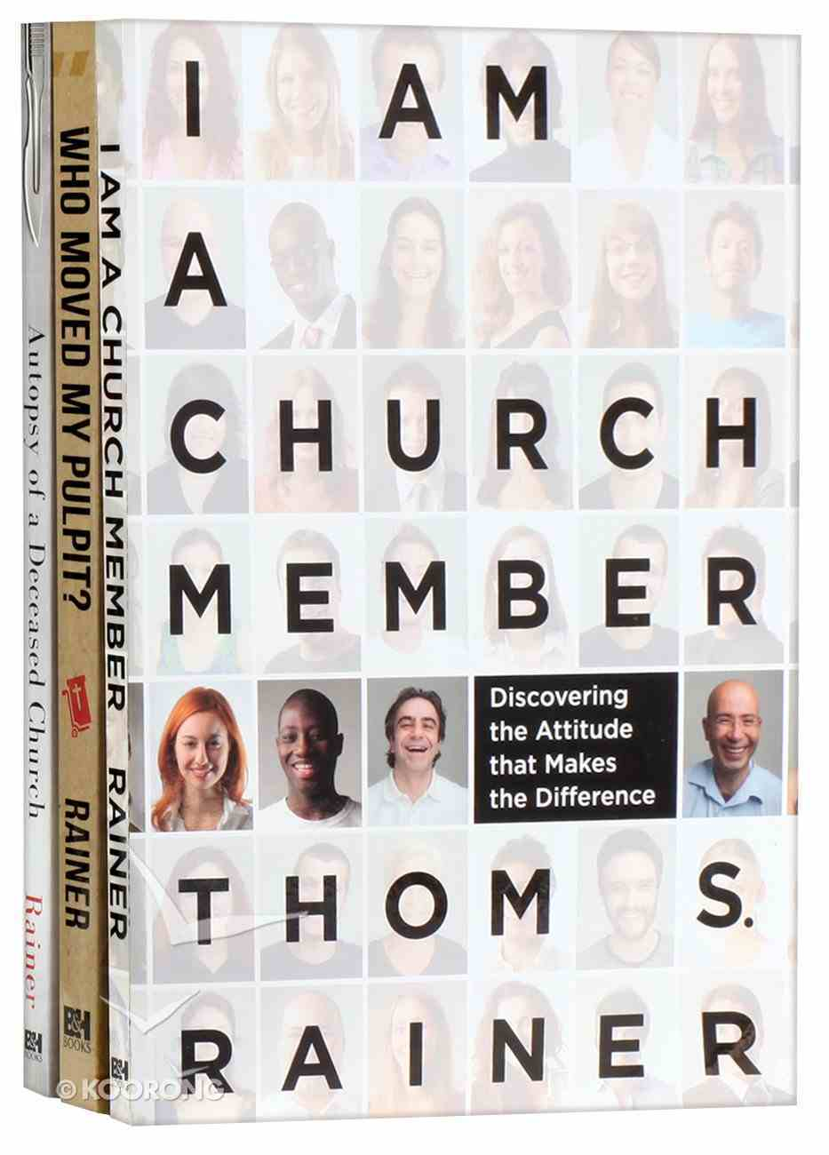 Thom Rainer Contemporary Church Collection 3-Pack (3 Vols) Pack