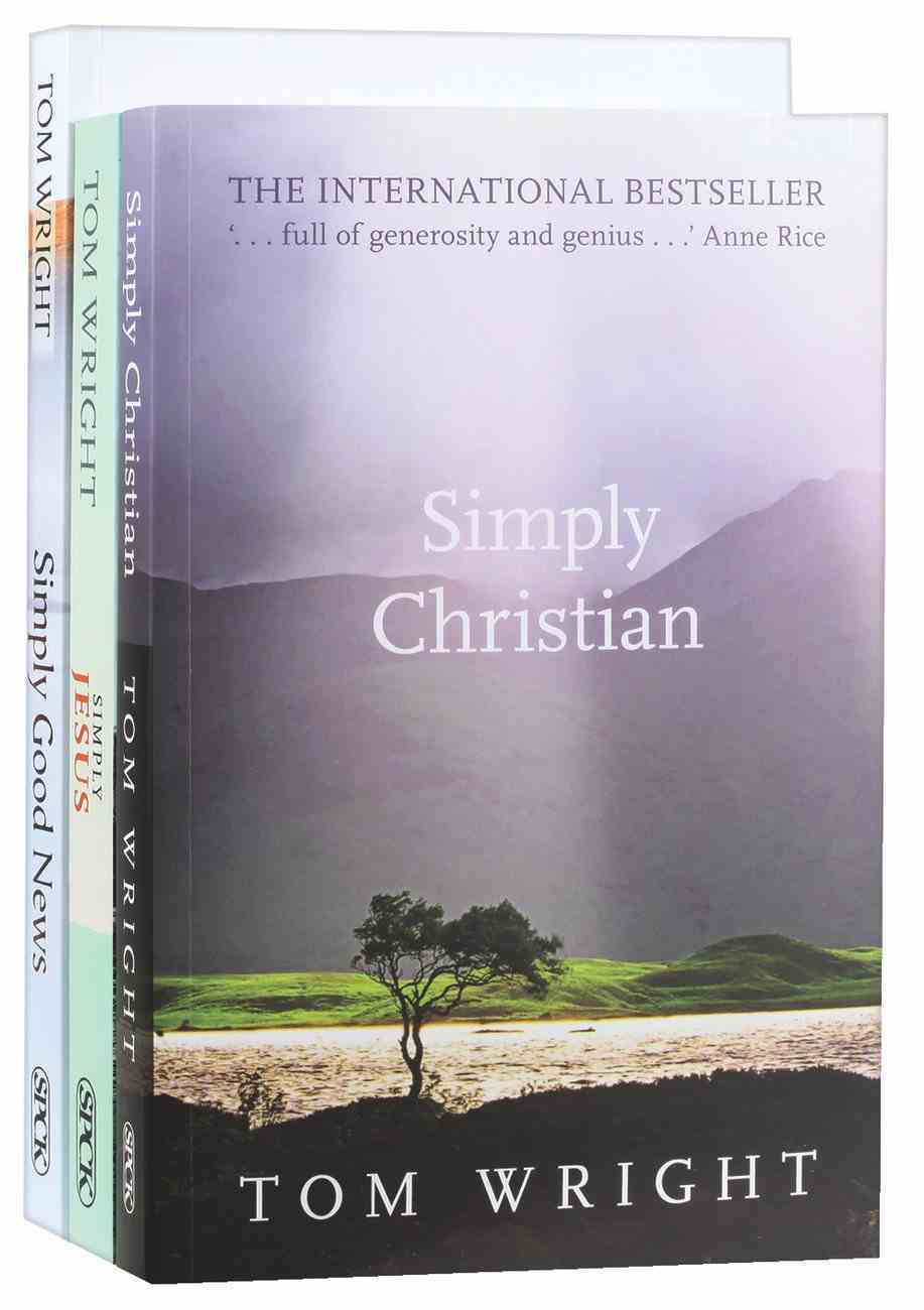 Tom Wright Simply Christianity 3-Pack (3 Vols) Pack
