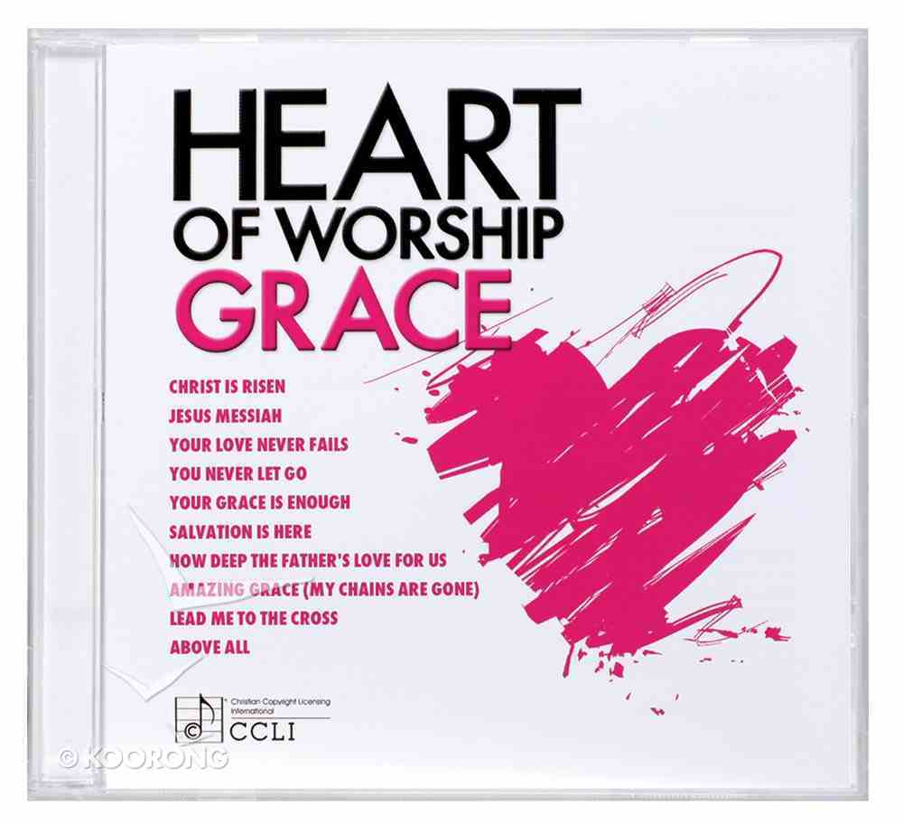 Ccli Heart of Worship - Grace (Heart Of Worship Series) CD