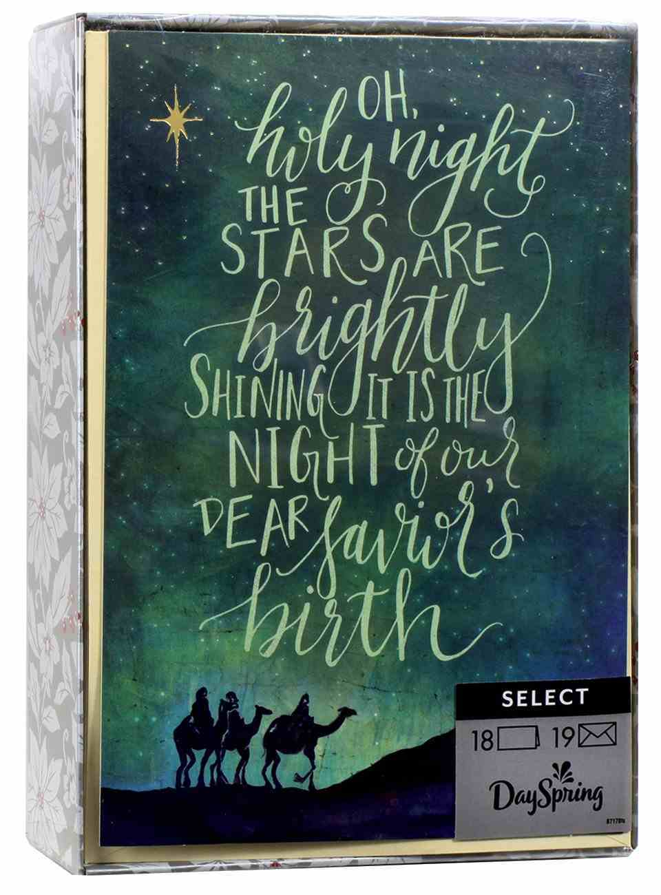 Christmas Boxed Cards: Bethlehem (Luke 2:11 Kjv) Box