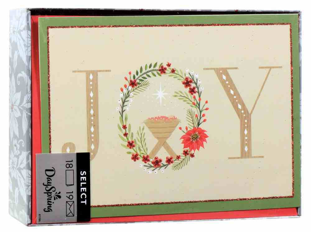 Christmas Boxed Cards: Joy Advocate Art (Matthew 2:10 Kjv) Box