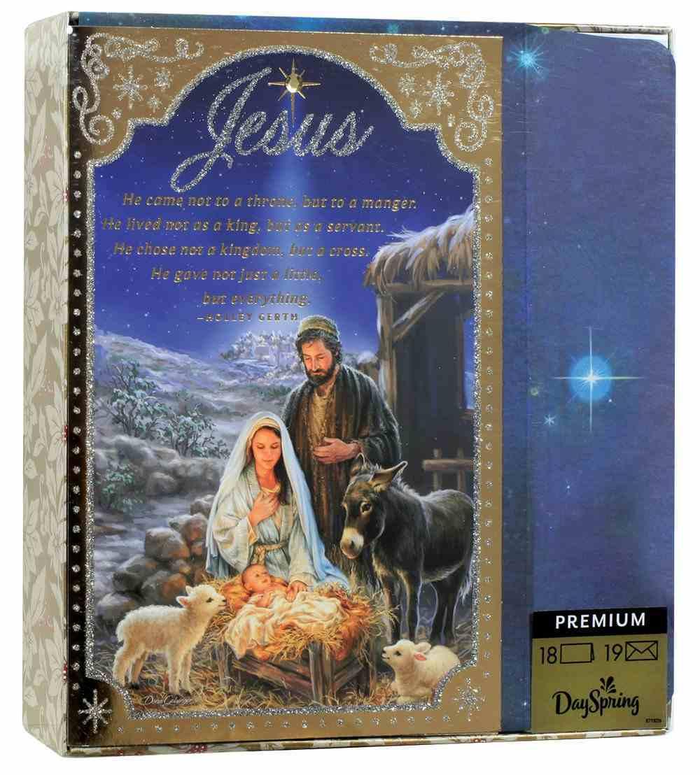 Christmas Premium Boxed Cards: Jesus Nativity Scene (Ephesians 5:2 Niv) Box