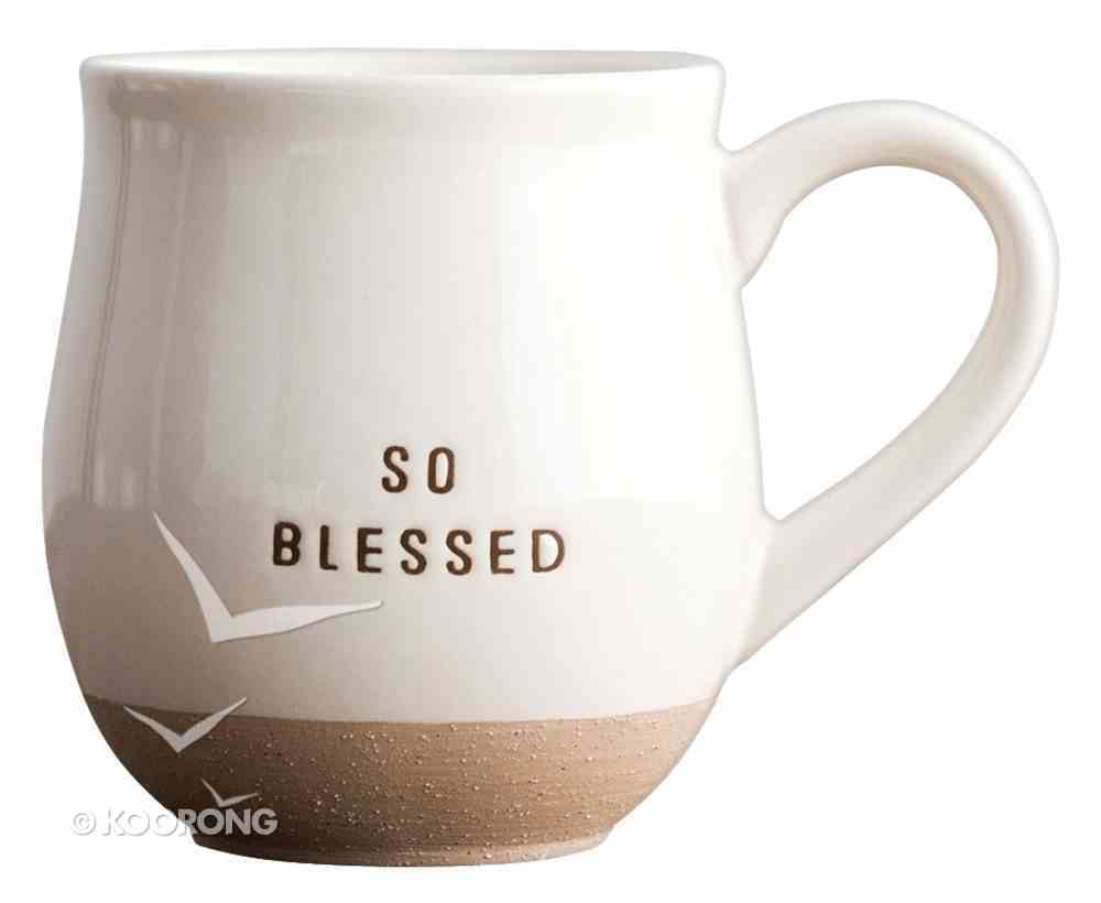 Clay Dipped Mug: So Blessed Homeware