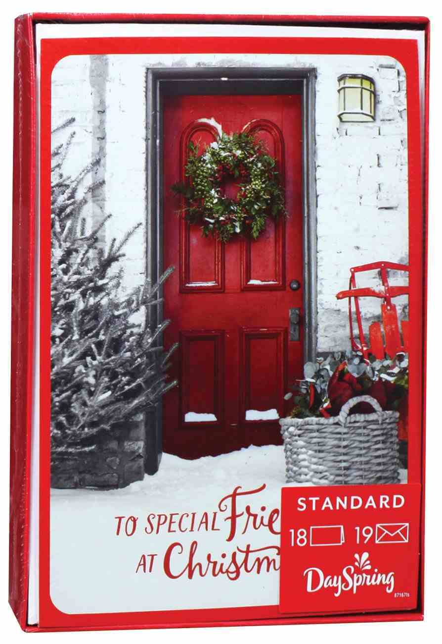Christmas Boxed Cards: To Special Friends At Christmas (Philippians 1:7) Box