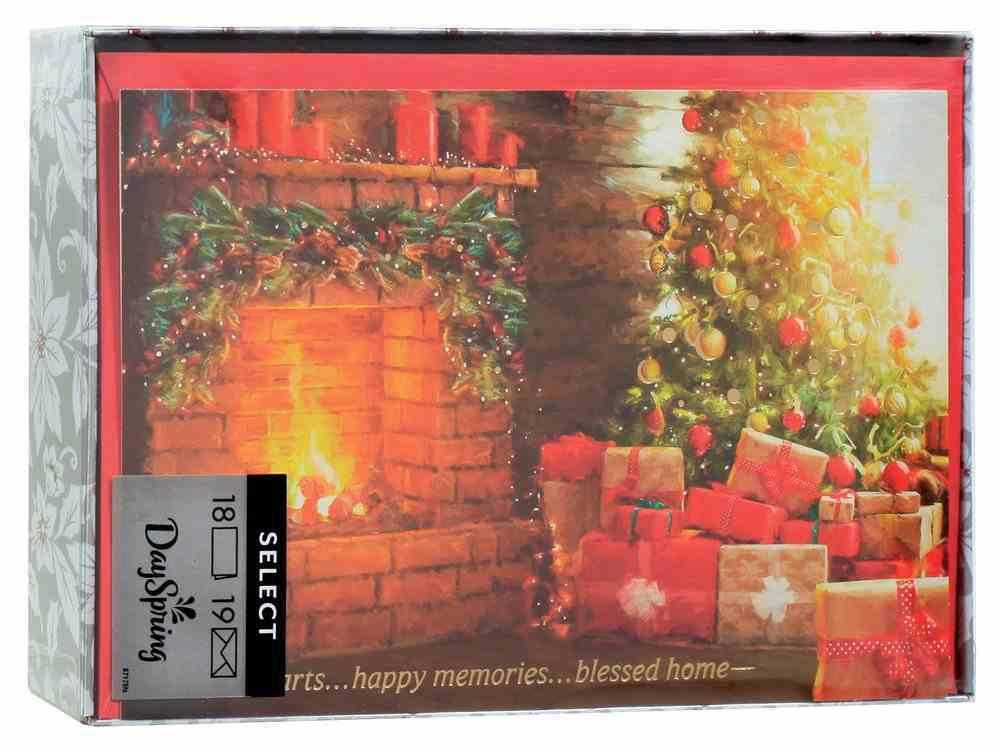 Christmas Boxed Cards: Warm Hearts... (James 1:17 Kjv) Cards