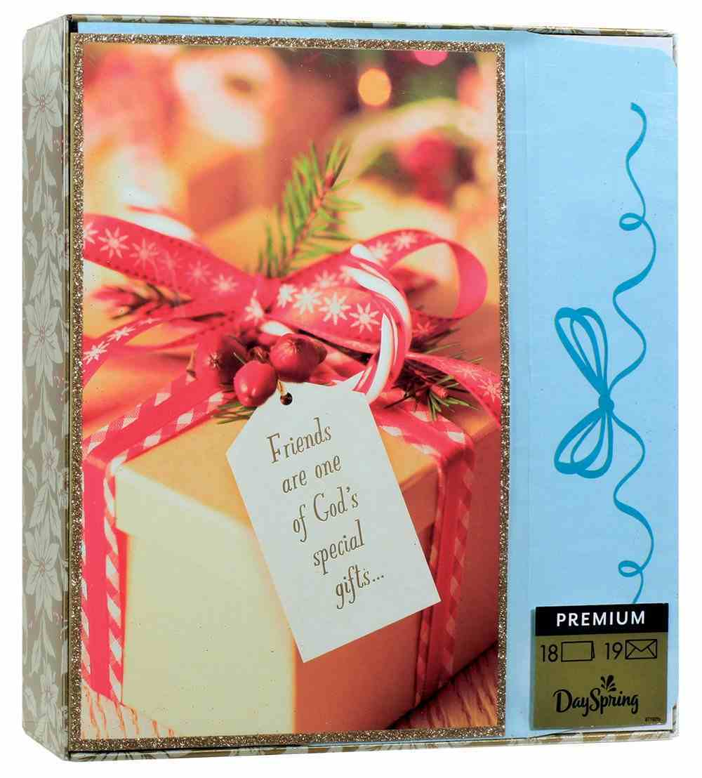 Christmas Premium Boxed Cards: Friends Are Special Gifts (James 1:17 Kjv) Cards