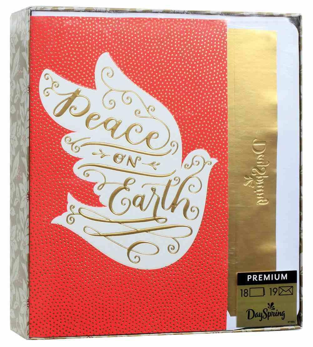 Christmas Premium Boxed Cards: Peace on Earth (Luke 2:13,14 Kjv) Cards