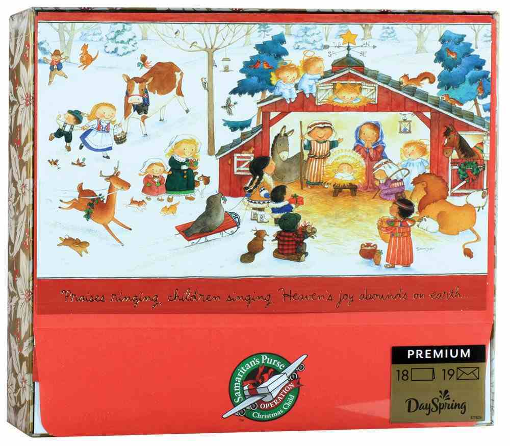Christmas Boxed Cards: Operation Christmas Child, Children Singing (Luke 2:14 Icb) Cards