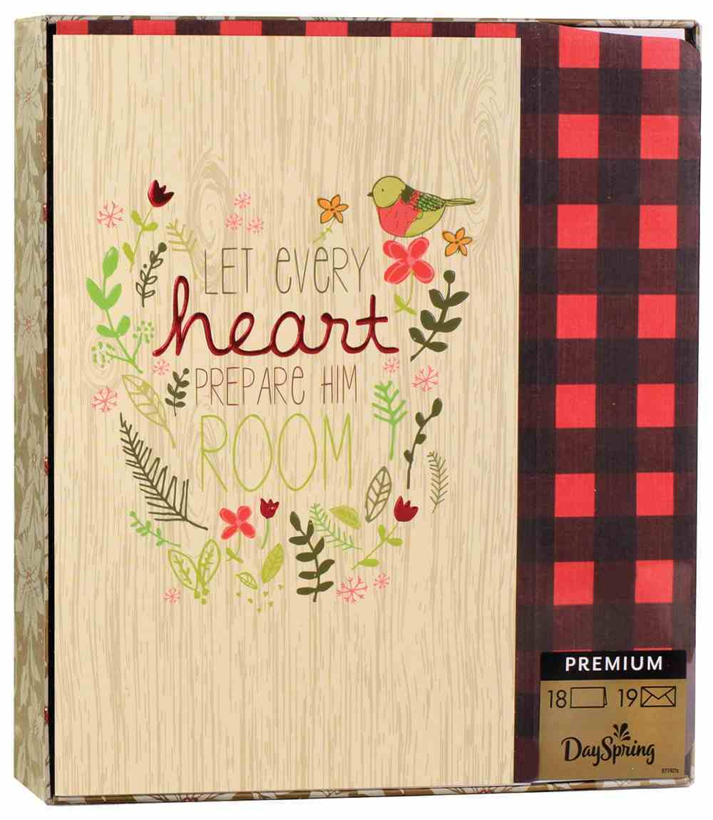 Christmas Boxed Cards: Let Every Heart Prepare (Luke 2:11 Ncv) Cards
