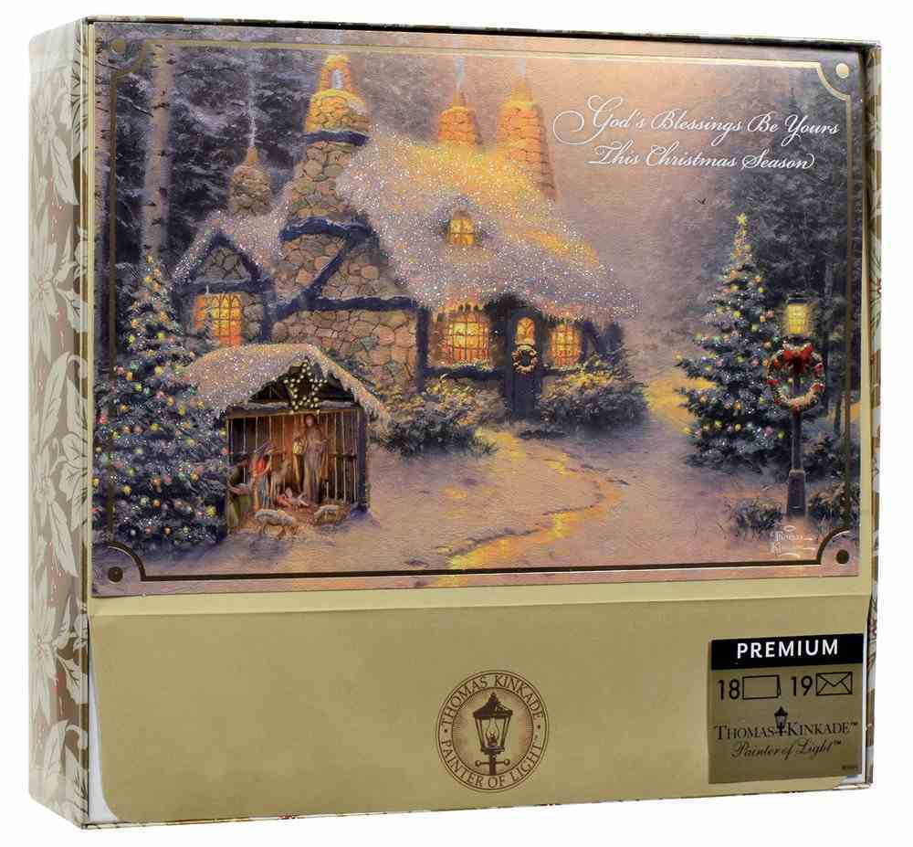 Christmas Boxed Cards: Thomas Kinkade Blessing Stone (Matthew 2:2 Nlt) Cards