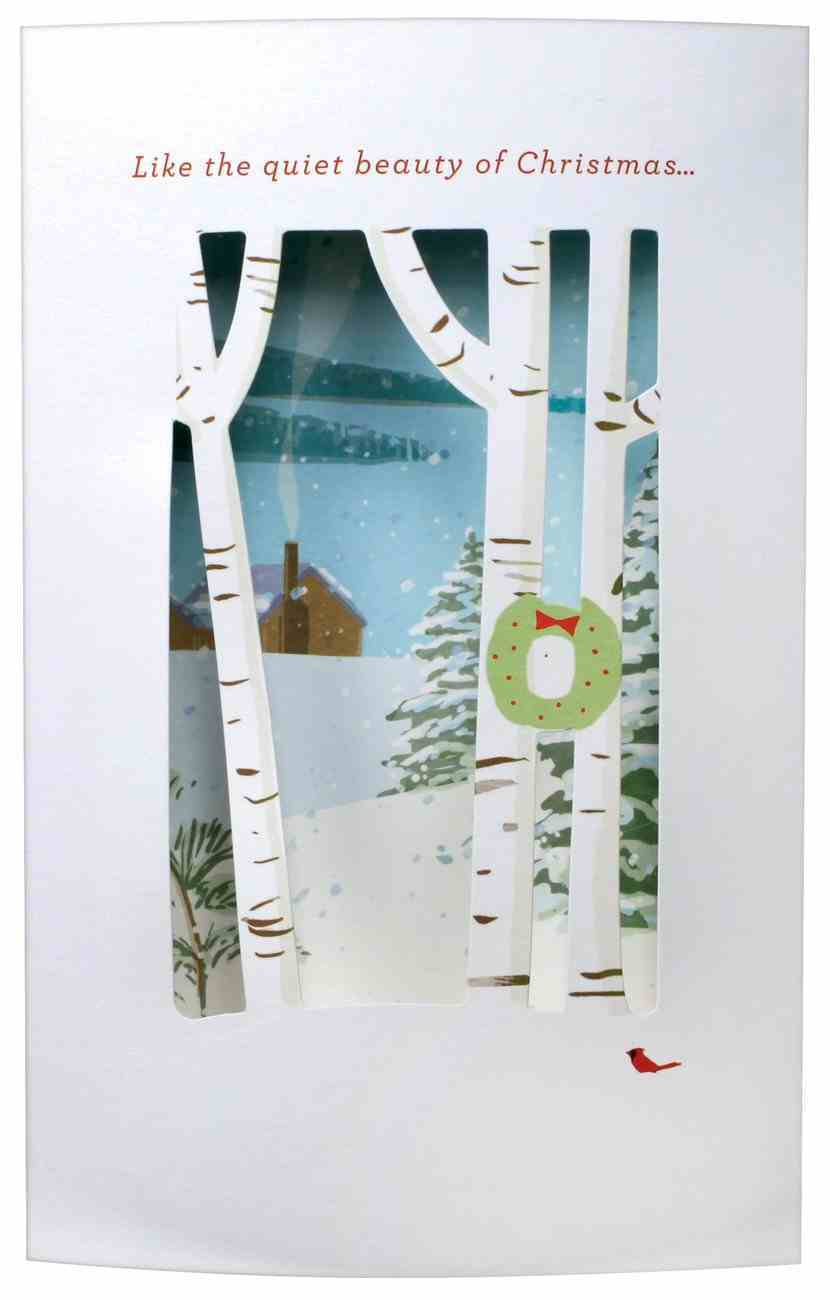 Christmas Pop-Up Boxed Cards: Forest (2 Cor 13:11 Kjv) Cards