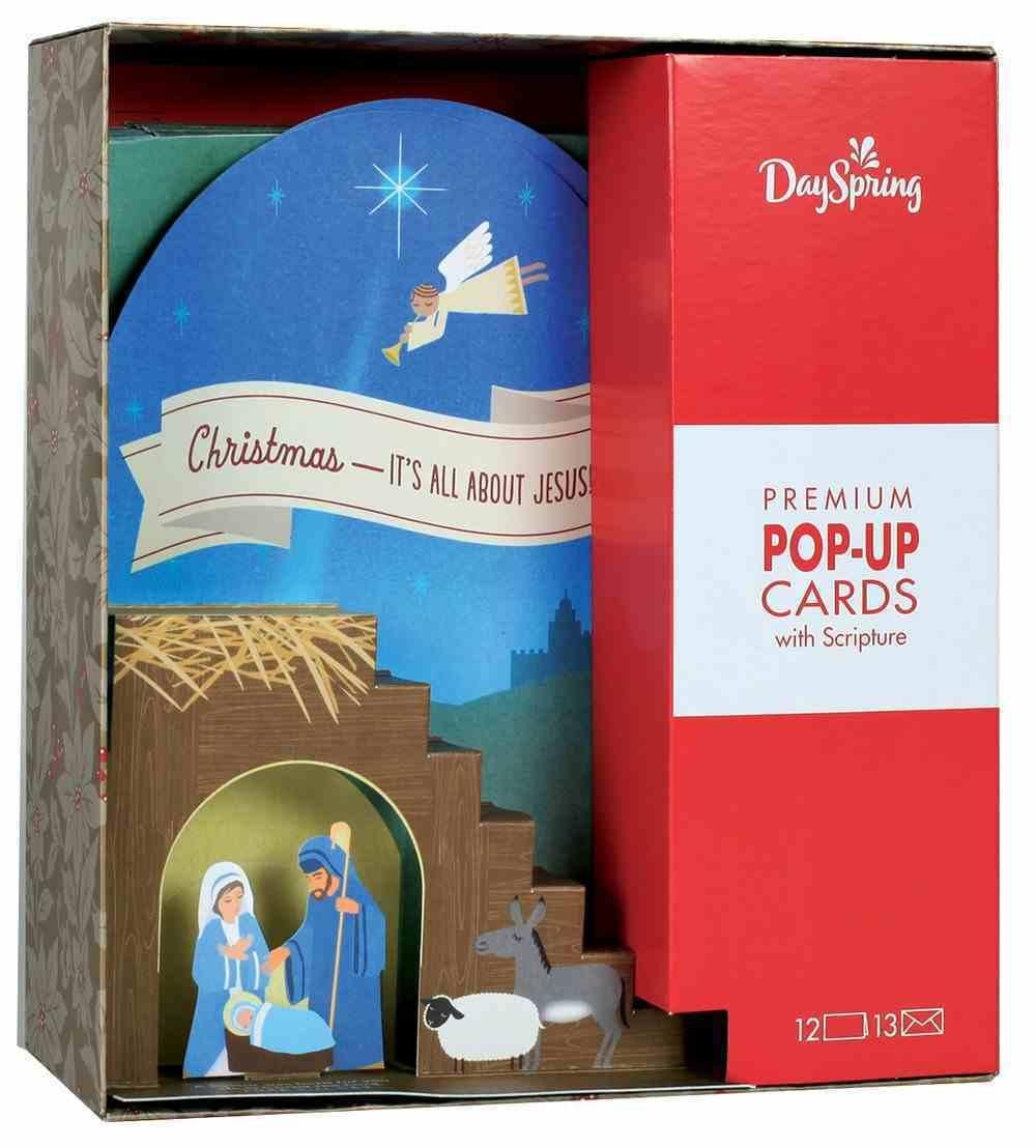 Christmas Pop-Up Boxed Cards: Nativity (Luke 2:11 Cev) Cards