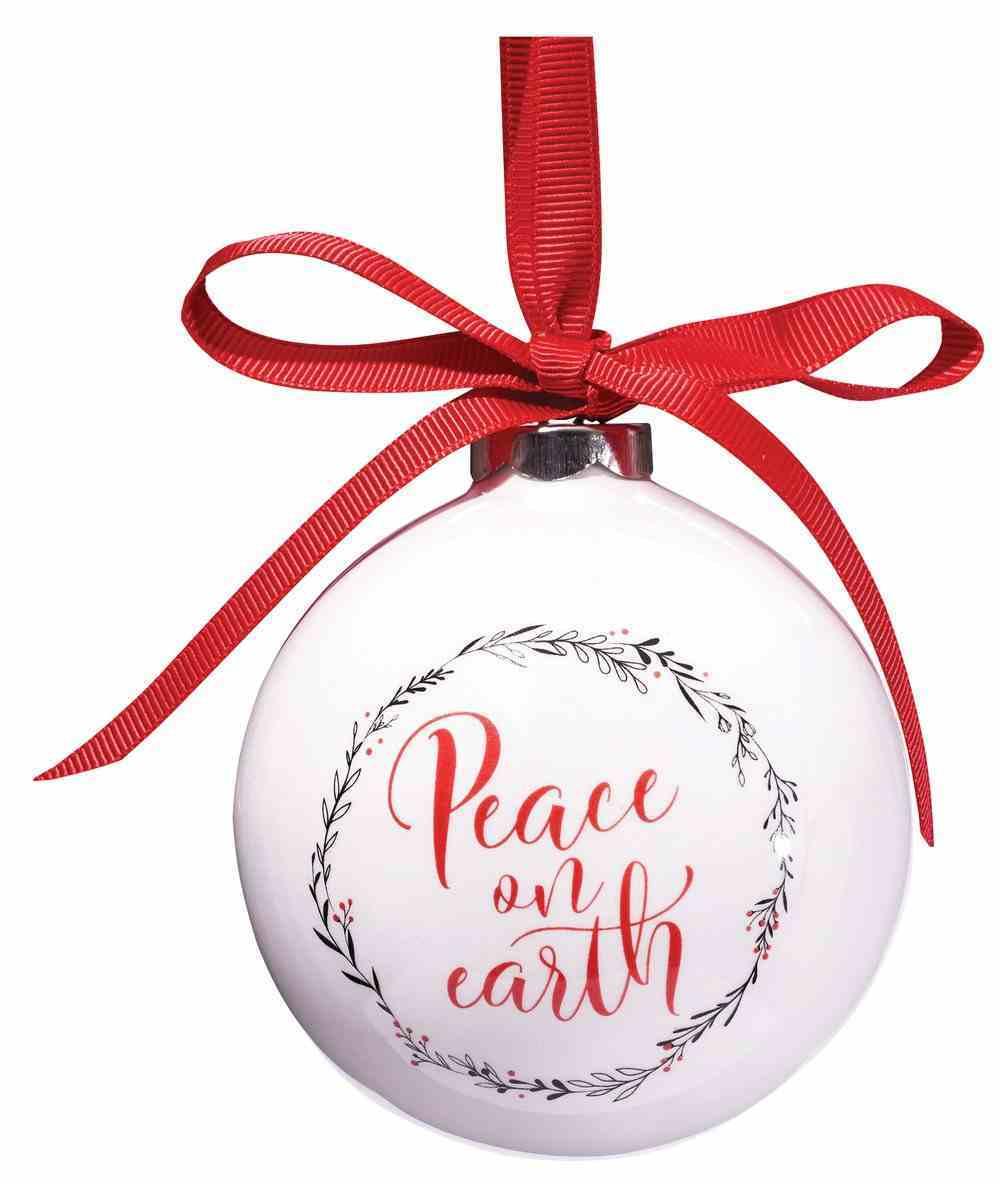 Porcelain Ornament: Round 89Mm Diameter Gift Box Homeware