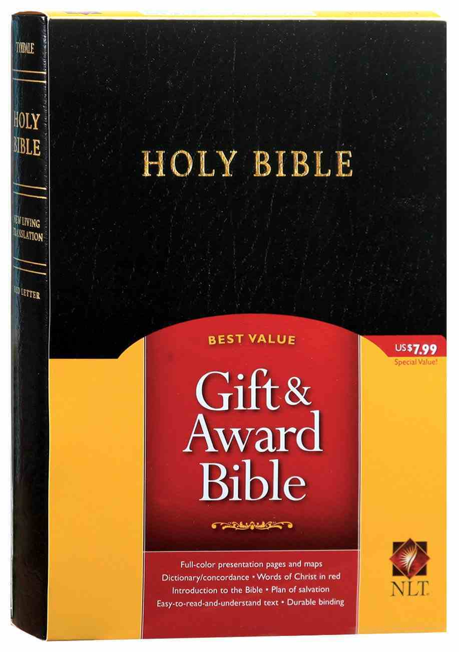 NLT Gift & Award Black (Red Letter Edition) Imitation Leather