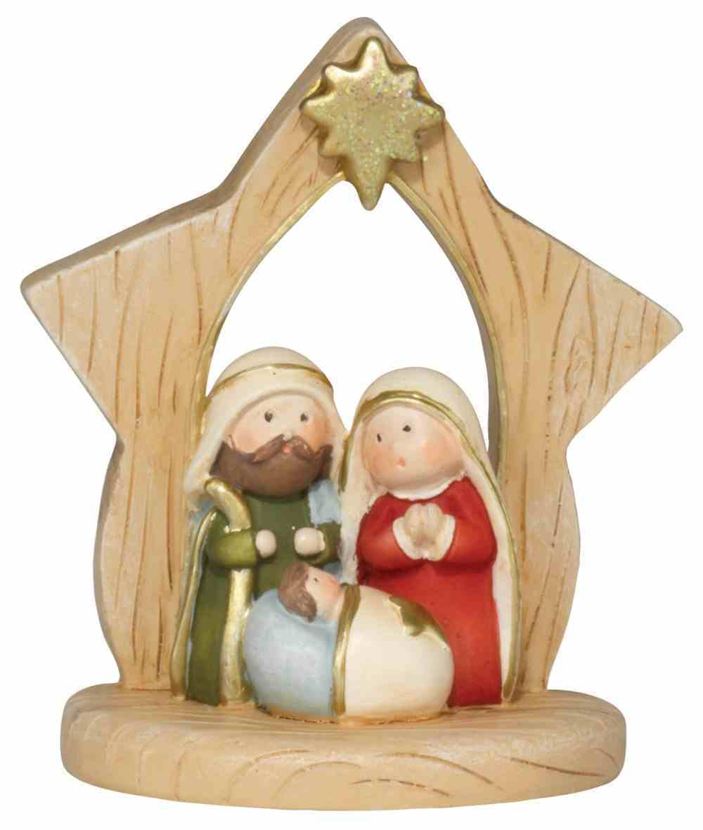 Holy Family Figurine: Resin 1 Piece Homeware
