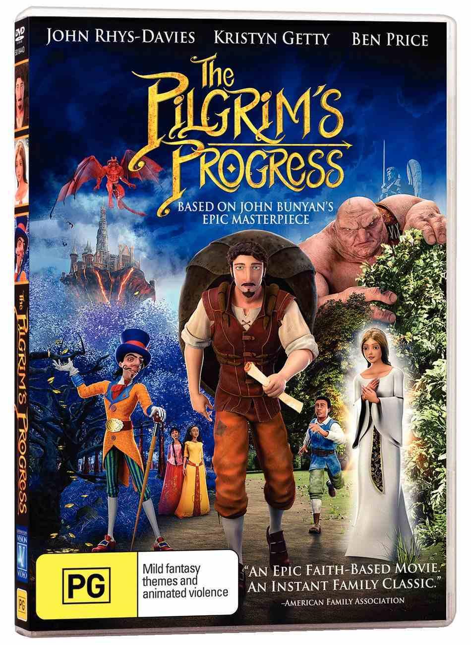 The Pilgrim's Progress (2019 Movie) DVD