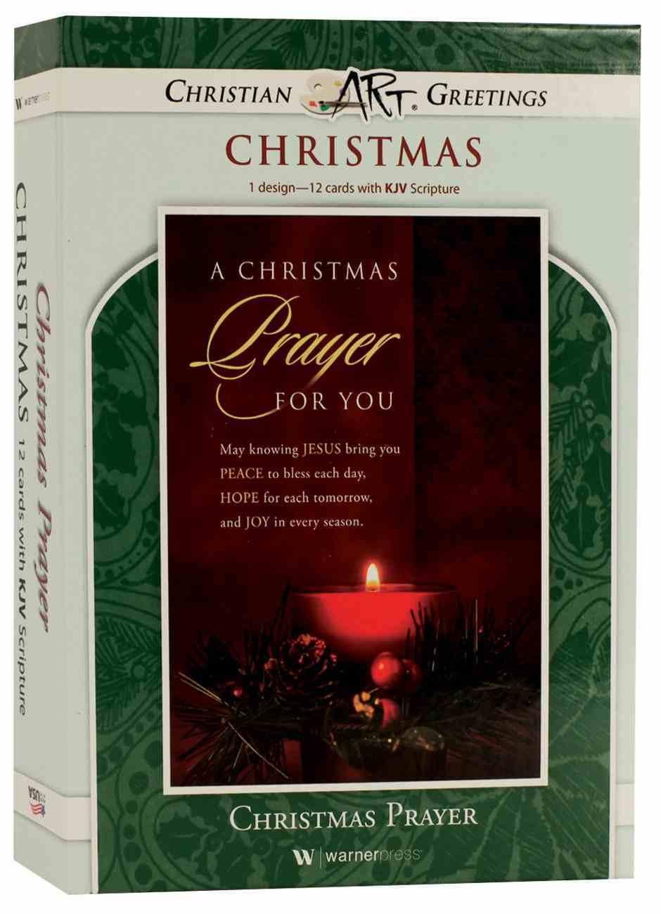 Christmas Boxed Cards: Christmas Prayer For You, (Luke 2:10 Kjv) Box