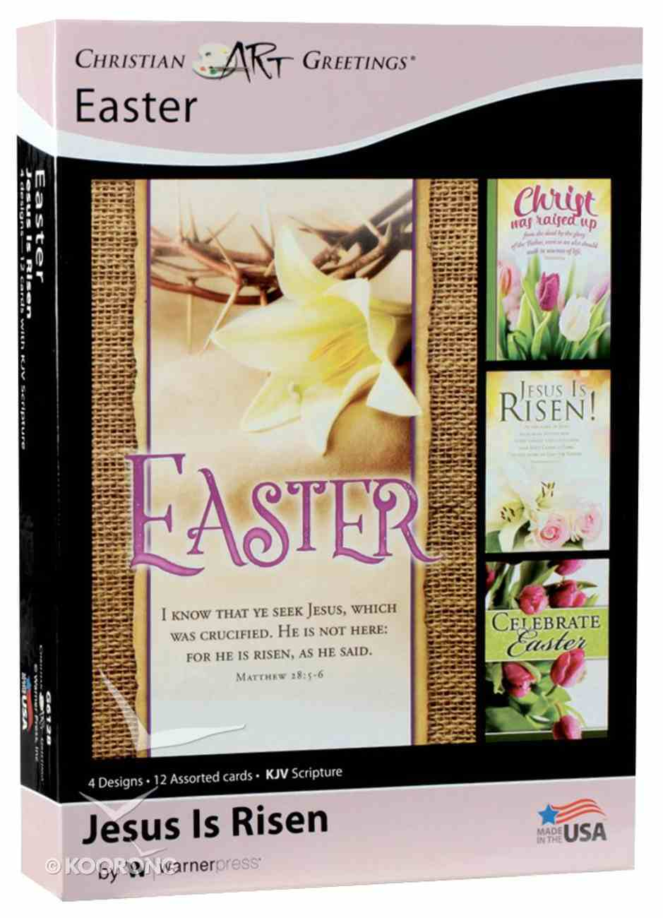 Boxed Cards: Easter - Jesus is Risen (Kjv) Box
