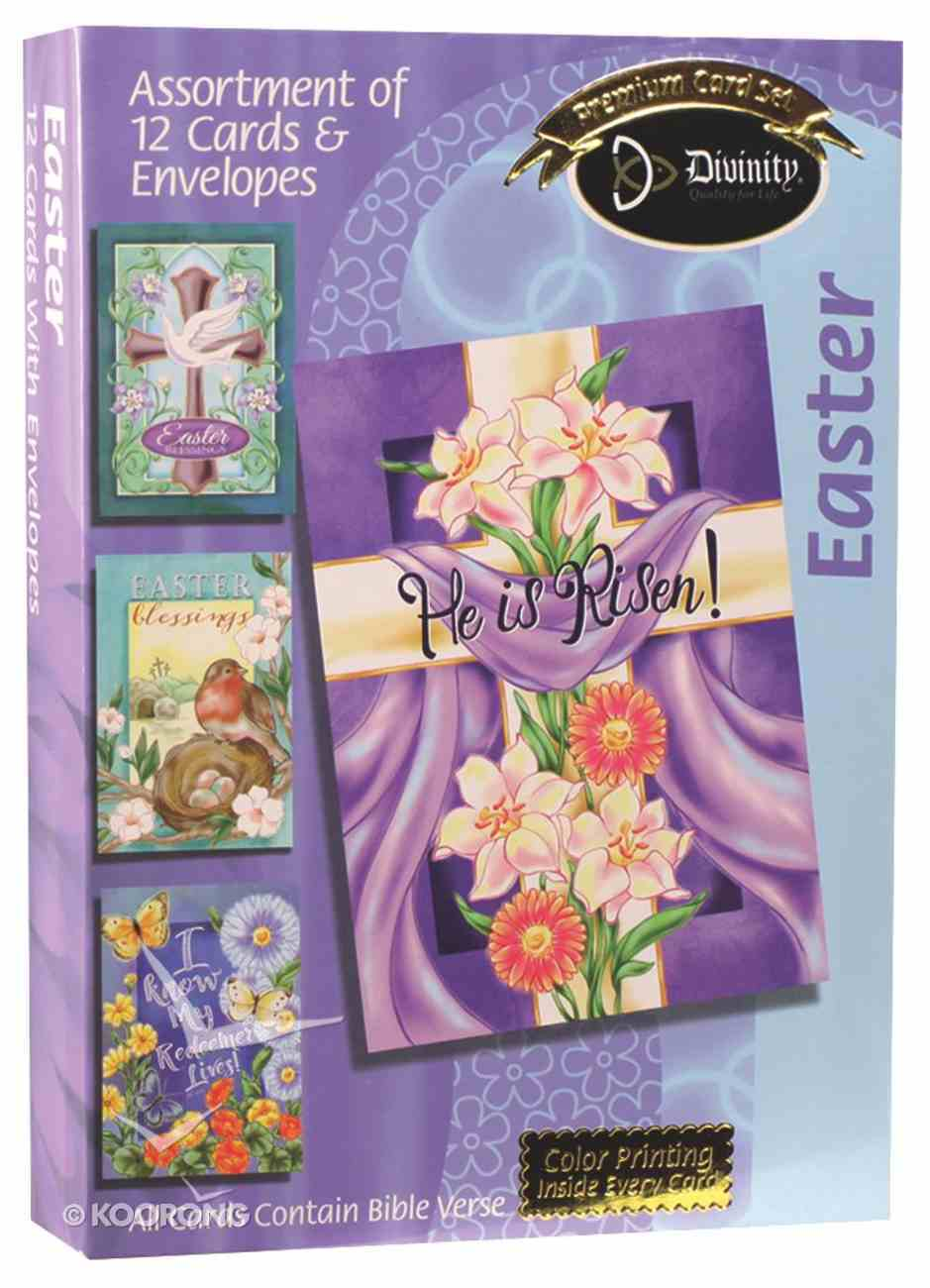 Easter Boxed Cards: He is Risen! Box