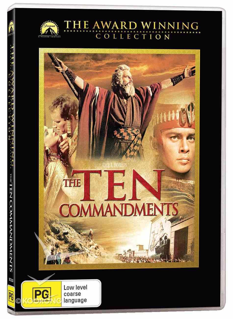 The Ten Commandments (1956) DVD