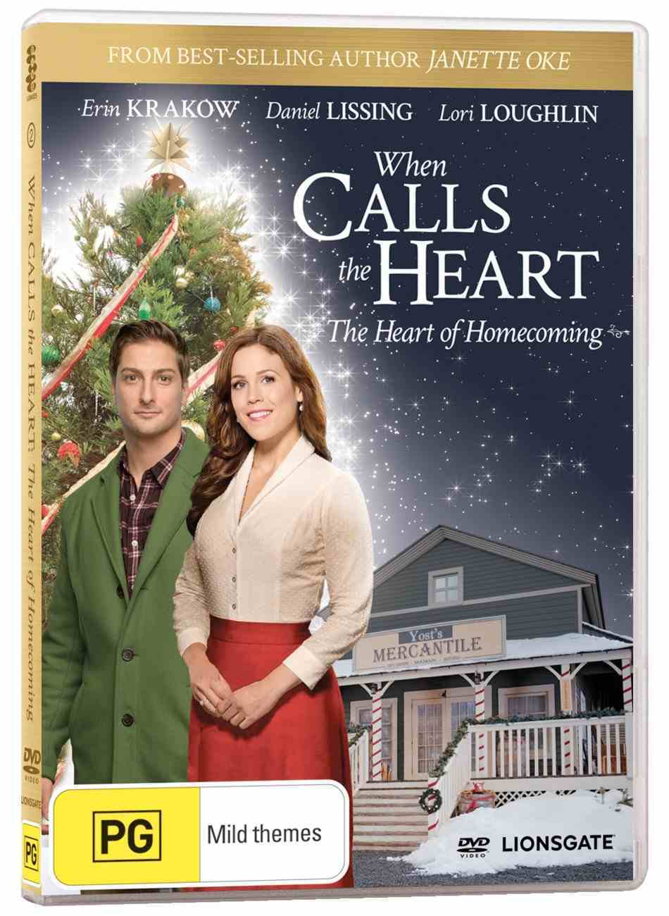 When Calls the Heart #24: The Heart of Homecoming (Christmas Movie) DVD
