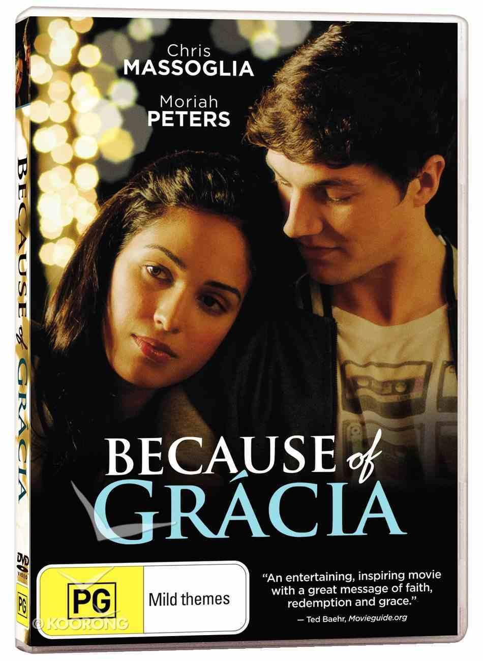 Because of Gracia DVD