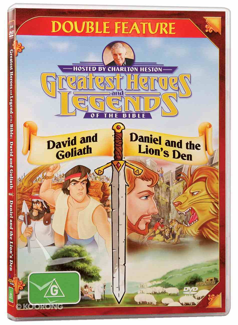 David and Goliath/Daniel and the Lion's Den (Greatest Heroes & Legends Of The Bible Series) DVD