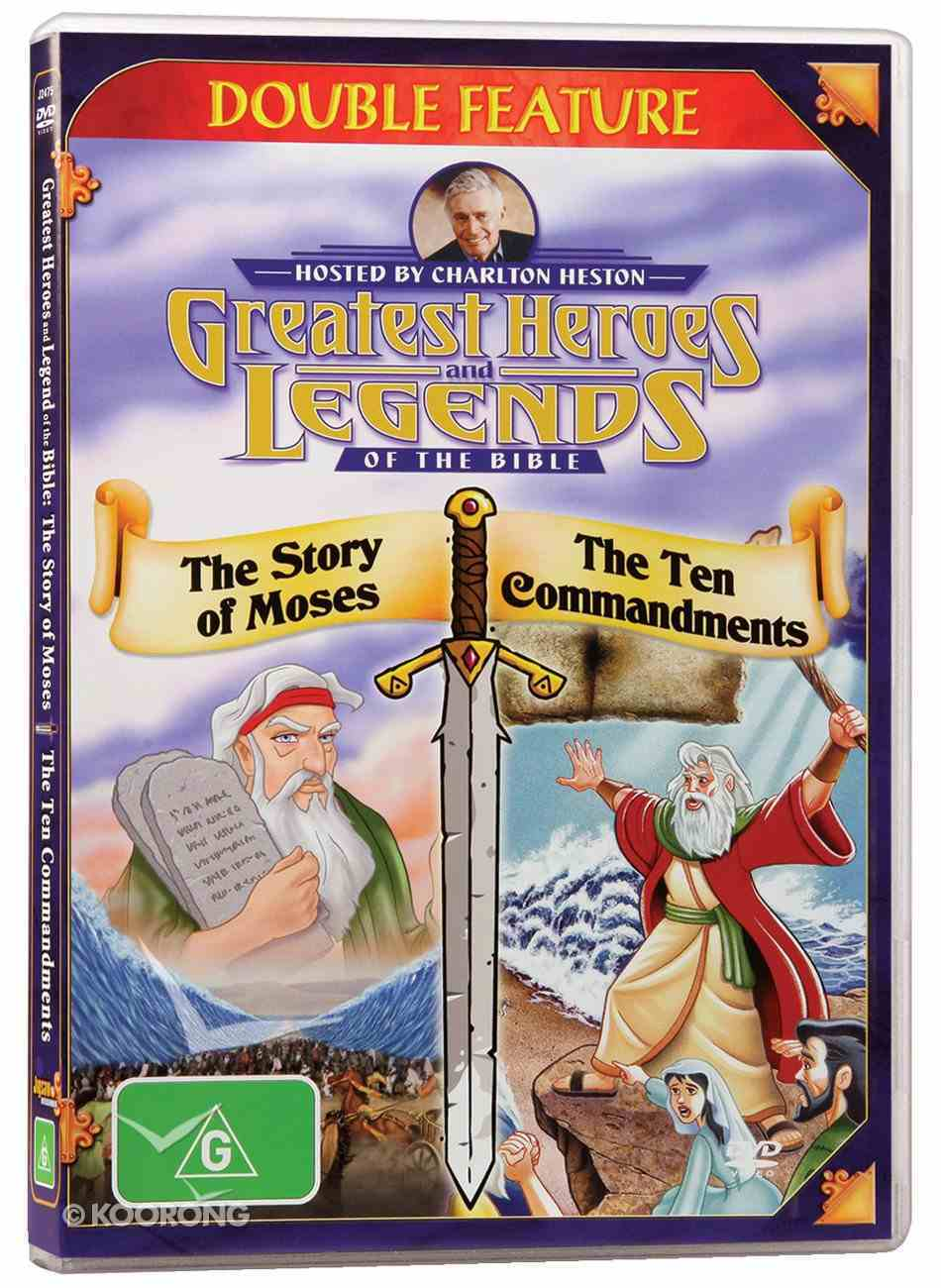 Story of Moses/Ten Commandments (Greatest Heroes & Legends Of The Bible Series) DVD