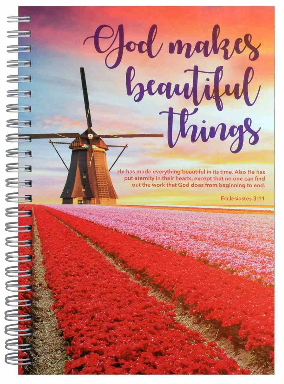 Journal: Windmill, God Makes Beautiful Things Spiral
